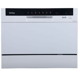 Посудомоечная машина Korting KDF 2050 W, компактная, дисплей, защита от протечек Ош