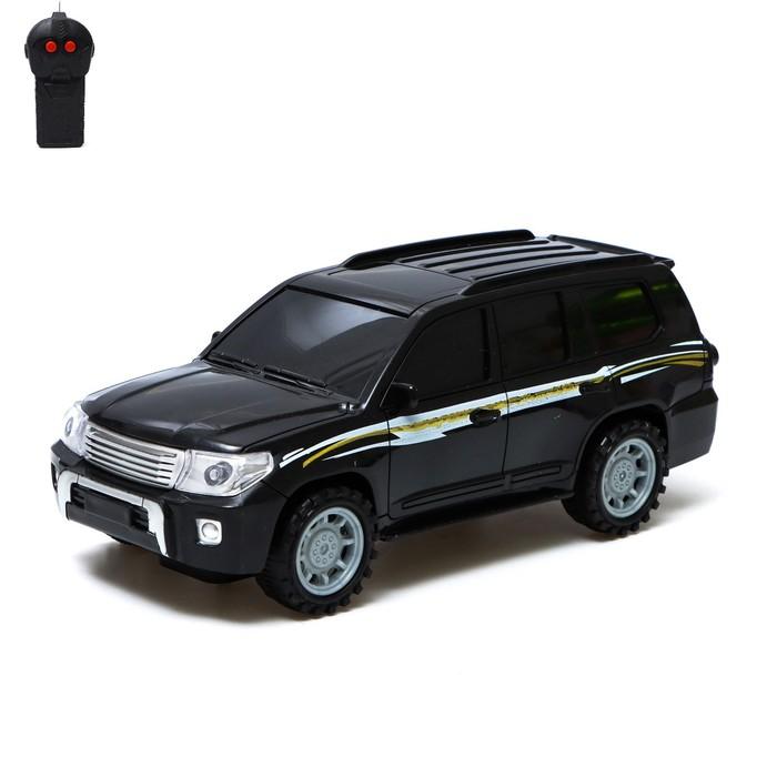 """Джип радиуправляемый """"Круизер"""", работает от батареек цвет:МИКС"""