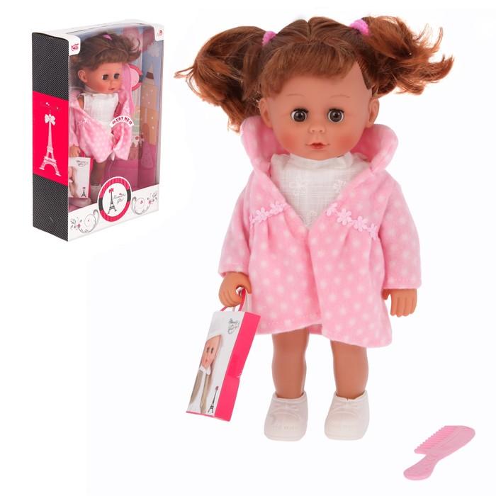 Кукла «Катенька» с аксессуарами, звуковые эффекты, работает от батареек