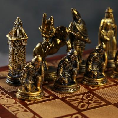 """Шахматы подарочные «Куликовская битва"""", р-р поля 31 × 31 см"""