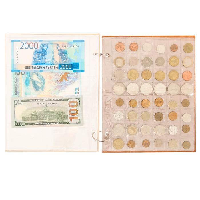 """Альбом для монет """"Деньги мира"""" - фото 440951731"""