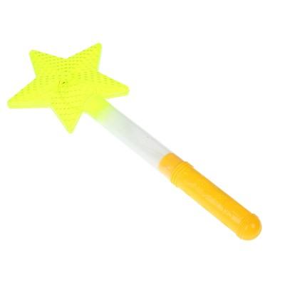"""Палочка световая """"Звезда"""", цвет желтый"""