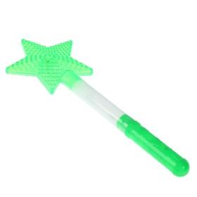 Палочка световая «Звезда», цвет зелёный