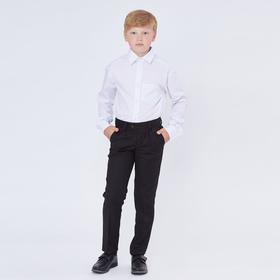 Рубашка для мальчика, цвет белый, рост 158 см