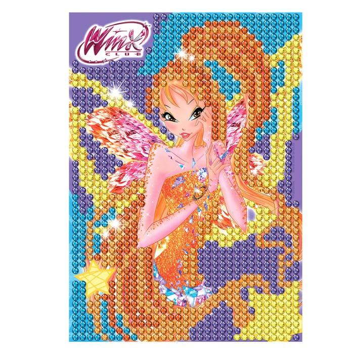 Мозаика алмазная для детей Феи ВИНКС: Стелла