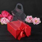 Коробка для цветов, 25 х 18 х 10,5 см - фото 8877364