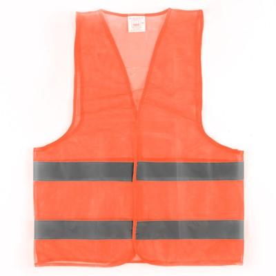Ж8 textile vest, orange, ХXL