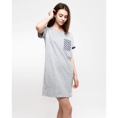 Туника женская 2920-16 (512047) цвет серый меланж, р-р 50 (XL)