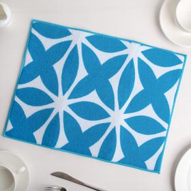 {{photo.Alt || photo.Description || 'Салфетка для сушки посуды Доляна «Призма», 30×40 см, микрофибра, цвет голубой'}}