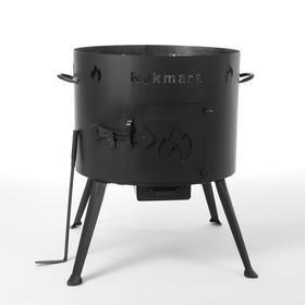 Печь  под казан 15 л, толщина металла 2 мм, диаметр 452 мм