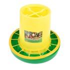 Кормушка бункерная для домашней птицы на 6 кг, цвет МИКС, «Птичий дворик»