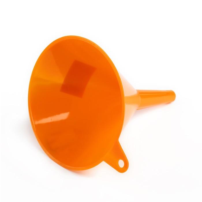 Воронка для ГСМ, диаметр 160 мм, высота 180 мм, оранжевый