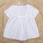 Платье крестильное (шитье), рост 62-68 см, цвет белый 2010_М