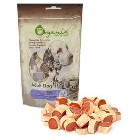 Лакомство Organix для собак «Рулетики из куры и рыбы», 100 г