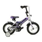 """Велосипед 12"""" Stels Jet, Z010, цвет белый/фиолетовый/черный"""