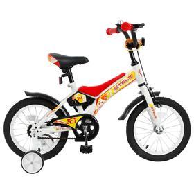 """Велосипед 14"""" Stels Jet, Z010, цвет белый/красный"""