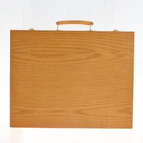 Набор для рисования в деревянном пенале