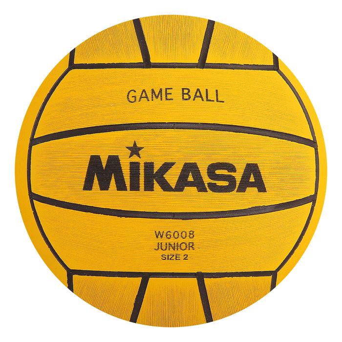 "Мяч для водного поло ""MIKASA W6008"", Junior,разм.2, резина"