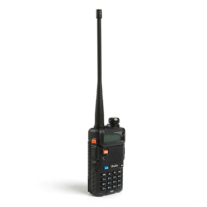Рация iRadio 558 Turbo, VHF/UFH, акб 1800 мАч