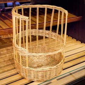 Подставка торговая для багетов, 30х30х40 см, ива