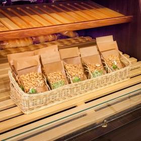 Лоток торговый «Специи», фанерное дно, 5 секций, 60×15×5/13 см, ручное плетение, ива