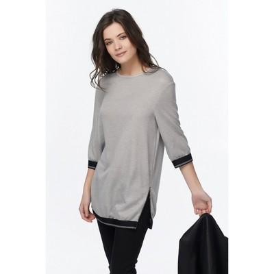 Туника женская, размер 46, цвет серебристо-серый 508-11