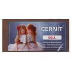 Полимерная глина запекаемая для изготовления кукол, Cernit Doll, 500 г, нуга, №808