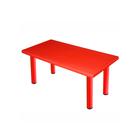 Стол детский «Королевский», пластиковый, цвет красный