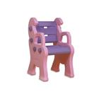 Детский пластиковый стул «Королевский», розовый