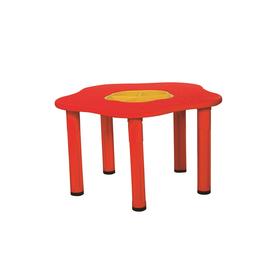 Столик детский «Сэнди», с системой хранения мелочей, цвет красный