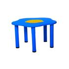 """Столик детский """"Сэнди"""", с системой хранения мелочей, цвет синий"""