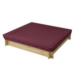 Защитный чехол для песочниц PAREMO, 120 х 120 х 30 см., цвет бордовый