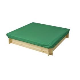 Защитный чехол для песочниц PAREMO, 120 х 120 х 30 см., цвет зелёный