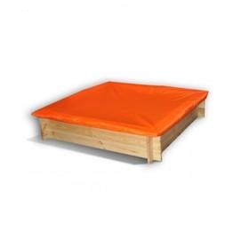 Защитный чехол для песочниц PAREMO, 120 х 120 х 30 см., цвет оранжевый