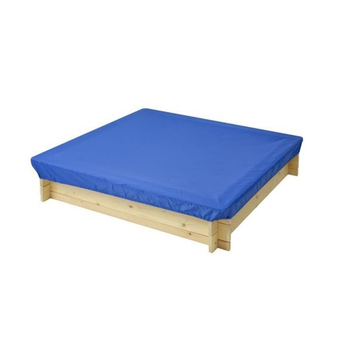 Защитный чехол для песочниц PAREMO, 120 х 120 х 30 см., цвет синий