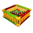 Манеж квадратный для шаров, высота 51 см