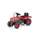 Трактор педальный, цвет красно-чёрный