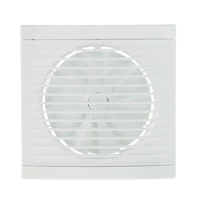 Вентилятор вытяжной Dospel Play Classic 125 S, d=125 мм, с низким уровнем шума - фото 7359886