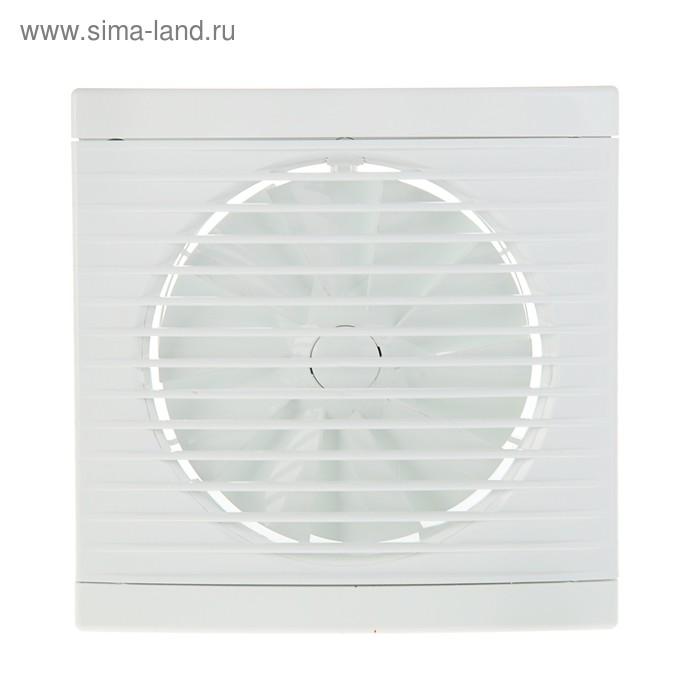Вентилятор осевой Dospel Play Classic 125 S, d=125 мм, с низким уровнем шума