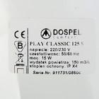 Вентилятор вытяжной Dospel Play Classic 125 S, d=125 мм, с низким уровнем шума - фото 7359889
