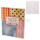 Тетрадь 48 листов, в клетку А5 на скрепке Kroyter Nature блок 65 г/м² в картонной обложке