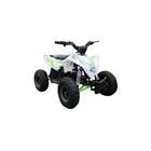 Детский электро квадроцикл MOTAX GEKKON 1300W, бело-зеленый