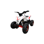 Детский квадроцикл бензиновый MOTAX GEKKON 70cc, бело-красный