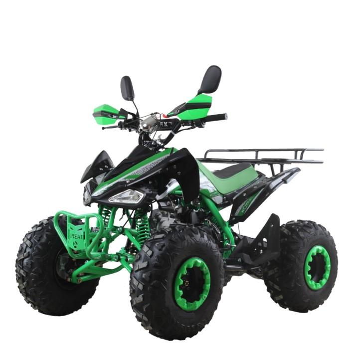 Квадроцикл бензиновый MOTAX ATV T-Rex Super LUX 125 cc, зелено-черный
