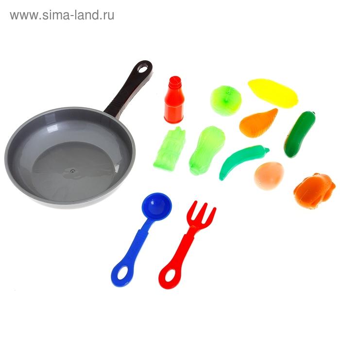 Набор продуктов в сковородке, 13 предметов