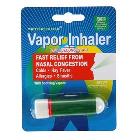 Ингалятор - карандаш Vapor Inhaler ментол, с маслом эвкалипта, 3 г