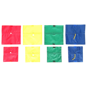Игровое поле «Застёжки», набор из 8 штук, цвет микс