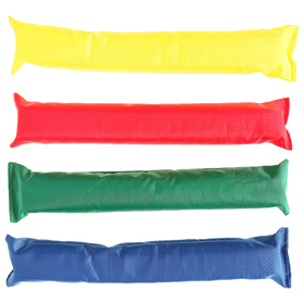 Палочки эстафетные, длина 30 см, набор из 4 штук, цвета микс