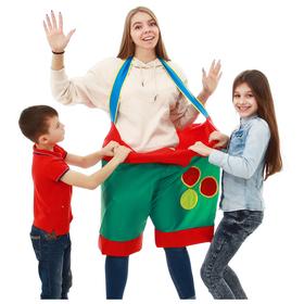 Штаны для игры с шарами детские, d=60 см, 35 х 56 см, цвета МИКС