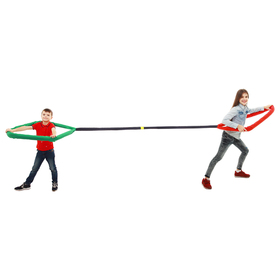 "Loop for pulling, the game of ""Who is stronger No. 1"", length 2 m color mix"